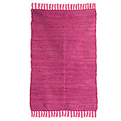 Ian Snow Pink Traditional Rug - 60 cm x 90 cm (1 ft 11 in x 2 ft 11 in)