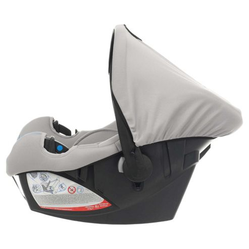 Obaby Group 0+ Car Seat - Tiny Tatty Teddy Grey