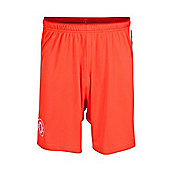 2014-15 Chelsea Adidas Home Goalkeeper Shorts (Kids) - Red