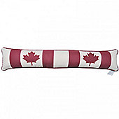 Woven Magic Canadian Flag Draught Excluder