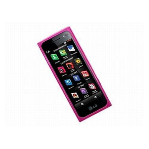 iTalkOnline ProGel Skin Case - LG BL40 (Chocolate Black Label) - Pink