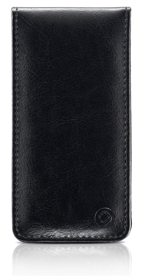 Gear4 Leather Flip Case for Apple iPhone 5 - Black