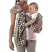 Babymoov Adjustable Ring Sling Baby Carrier in Almond & Taupe