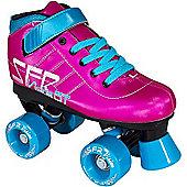 SFR Vision GT Blue Kids Quad Roller Skates - Pink