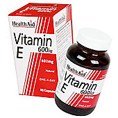Vitamin E 600iu Natural