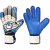 Uhlsport Eliminator Soft Supportframe Goalkeeper Gloves Size - White