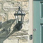 Endon Lighting Baloon Outdoor Wall Lantern in Matt Black