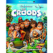 The Croods (BluRay & Uv copy)