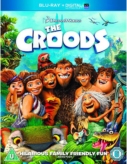 The Croods - Bluray + Uv Copy.