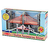 Melissa & Doug Skyline Wooden Suspension Bridge