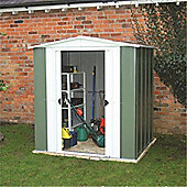 10ft x 8ft Metal Apex Shed (3.13m x 2.42m)