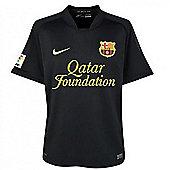 2011-12 Barcelona Away Nike Football Shirt (Kids) - Black