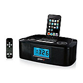 Groov-E i-SpeakerDock-20 Speaker System with Clock Radio for iPod/iPhone