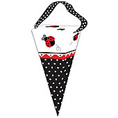 Ladybug Party Cone Favour Bags (6pk)