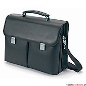 DICOTA Executive N13419L Carrying Case for Notebook, Black, Leather (3 day lead)