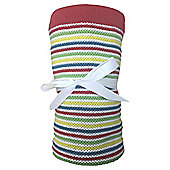 Tesco Knitted Blanket Multi Brights Story