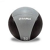 Bodymax Medicine Ball - Black/Grey 10kg