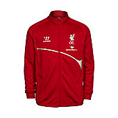 2014-15 Liverpool Warrior Walkout Jacket (Red) - Red