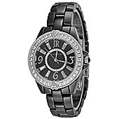 Judith Ripka Ladies Ceramic MOP Dial Stone Set Watch WA001002-S