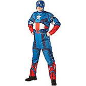 Captain America Classic - Adult Costume Size: 42-46