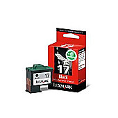 Lexmark Twin Pack 17 Black Print Cartridges