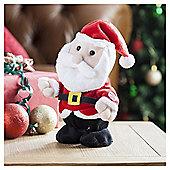 Tesco Dancing Santa Decoration