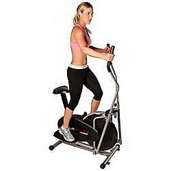 Confidence Fitness 2-In-1 Elliptical Cross Trainer & Exercise Bike