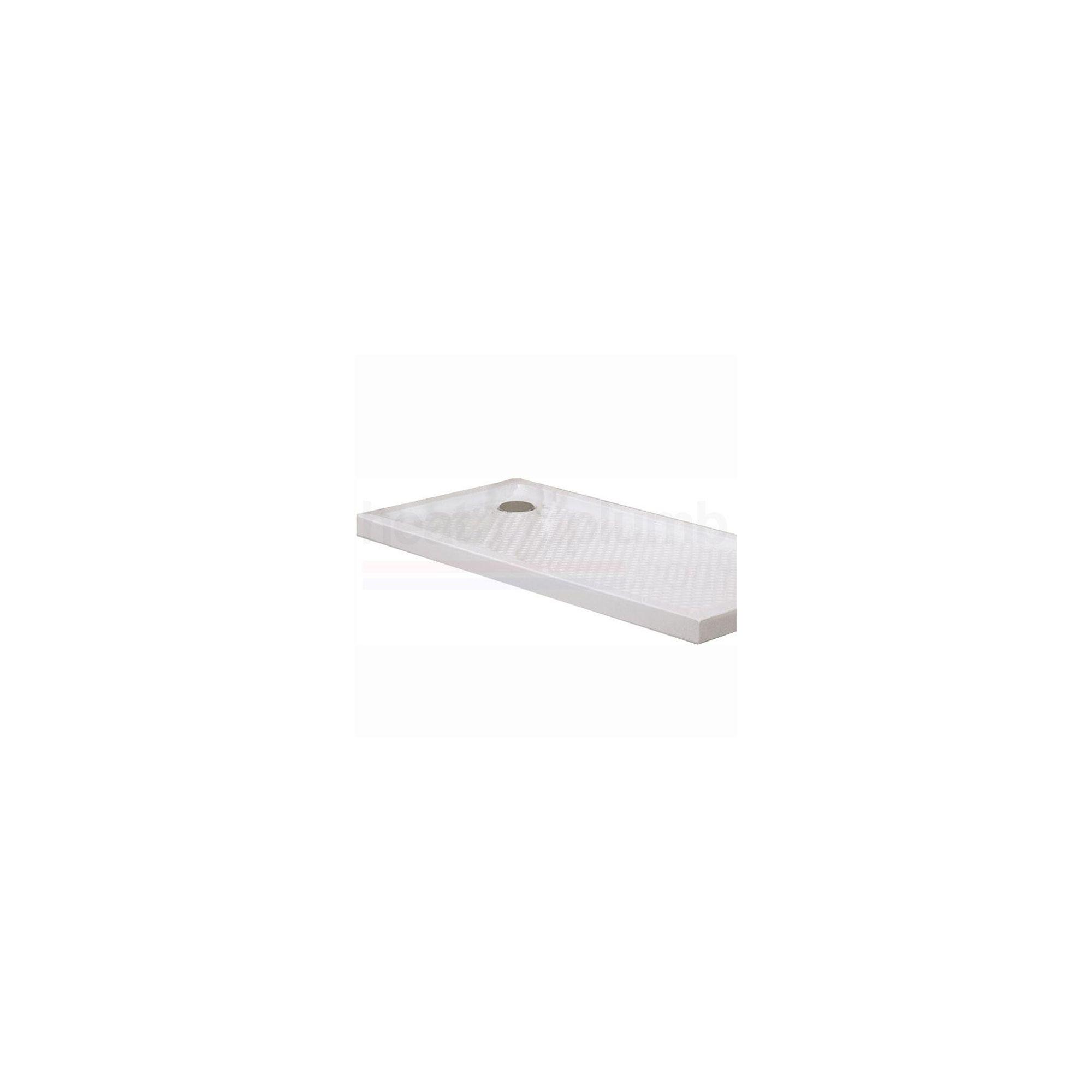 AKW Keppel Rectangular Shower Tray 1300mm x 700mm at Tesco Direct