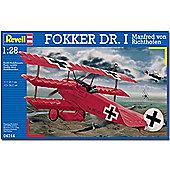 Revell Fokker Dr.I Richthofen 1:28 Aircraft Model Kit - 04744