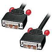 Lindy 1m DVI-D Cable Single Link Black