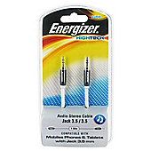 Energizer High Tech - 3.5mm Audio Jack Cable Black