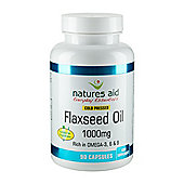 Flaxseed Oil Capsules - 1000Mg