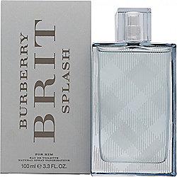Burberry Brit Splash Eau de Toilette (EDT) 100ml Spray For Men