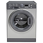 Hotpoint Extra WMXTF922G Washing Machine, 9Kg Wash Load, 1200 RPM Spin, A++ Energy Rating, Graphite