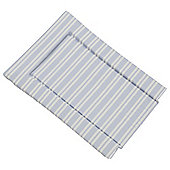 Pale Blue Stripe Changing Mat