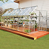 Palram Harmony 6' x 14' - Silver Greenhouse - Polycarbonate and Aluminium Frame