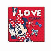 Minnie Mouse Canvas Art