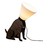 Modern Large Designer Style Sitting Dog Floor Lamp & C1 Shade
