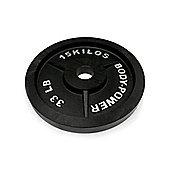 Body Power Cast Iron Olympic Discs - 15Kg (x2)