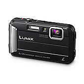 Panasonic DMC-FT30 Camera Black 16.1MP 4xZoom 2.7LCD 720pHD 25mm DC Vario Wtprf