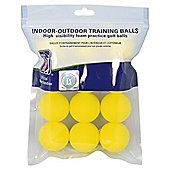PGA Tour foam practice Balls 12 Pack