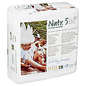 Naty By Nature Babycare Nappies - Size 5 - Large - 23 Pack