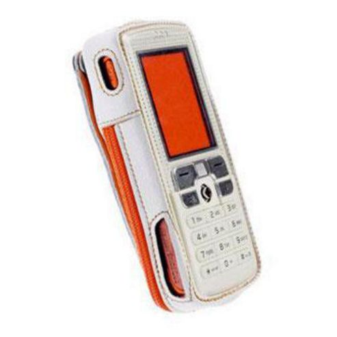 Krusell Cabriolet Classic Pearl White Case for Sony Ericsson W800i w/Clip 87161