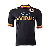2012-13 Roma 3rd Kappa Football Shirt - Black