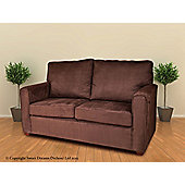Sweet Dreams Rochester 2 Seater Sofa - Chocolate