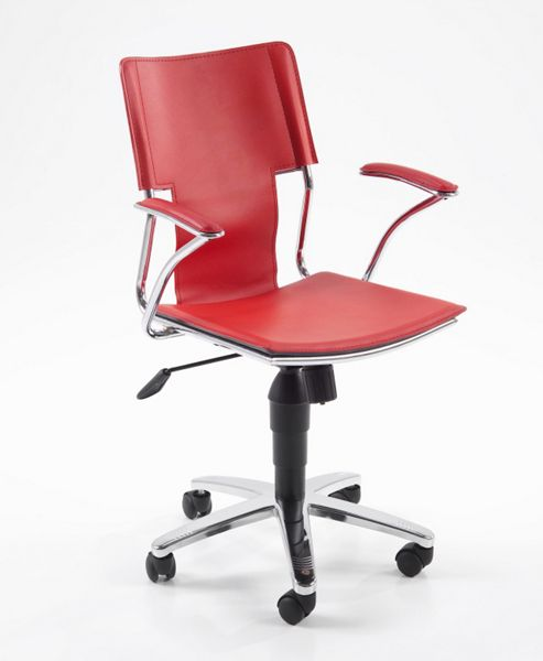 Actona Falcone Office Chair in Red