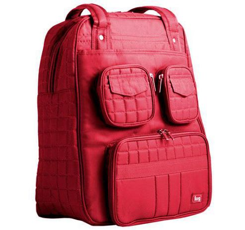 Addject Puddle Jumper Overnight Gym Bag Red