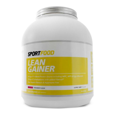 Sportfood Lean Gainer 2.27kg - Strawberry