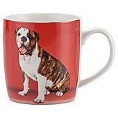 Tesco Single Porcelain Pet Mug, Red