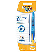 Bic Kids Handwriting Ballpoint Pen, Blue
